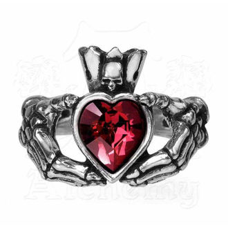 prsten ALCHEMY GOTHIC - Claddagh By Night, ALCHEMY GOTHIC