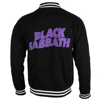 mikina pánská Black Sabbath - Wavy Logo - ROCK OFF, ROCK OFF, Black Sabbath