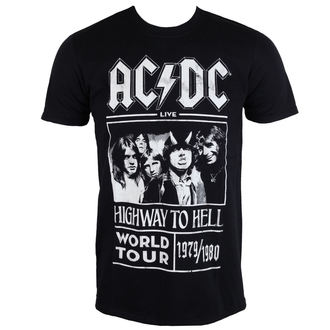 tričko pánské AC/DC - Highway To Hell - World Tour 1979/80 - Black - ROCK OFF, ROCK OFF, AC-DC