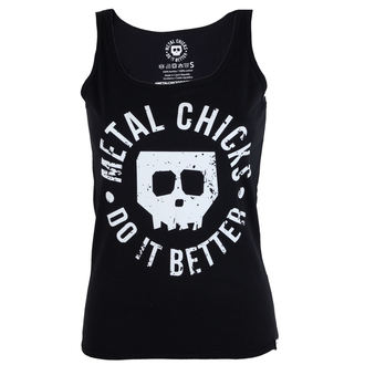 tílko dámské METAL CHICKS DO IT BETTER - Skull - MCDIB007
