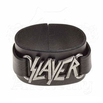 náramek Slayer - ALCHEMY GOTHIC - Logo, ALCHEMY GOTHIC, Slayer
