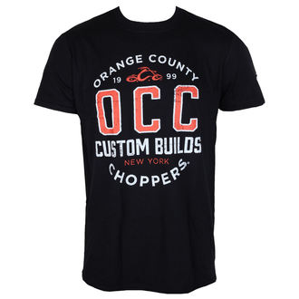 tričko pánské ORANGE COUNTY CHOPPERS - Rebel - Black