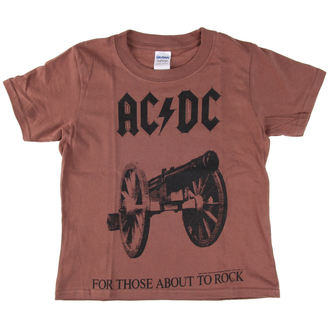tričko dětské AC/DC - For Those About To Rock - LOW FREQUENCY, LOW FREQUENCY, AC-DC