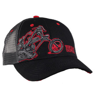 kšiltovka West Coast Choppers - WCC CHOPPERDOGS ROUND BILL TRUCKER - GREY, West Coast Choppers
