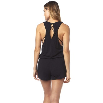 overal FOX - Refraction Romper- Black, FOX