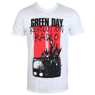 tričko pánské GREEN DAY - RADIO COMBUSTION - PLASTIC HEAD, PLASTIC HEAD, Green Day