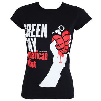 tričko dámské GREEN DAY - AMERICAN IDIOT - PLASTIC HEAD, PLASTIC HEAD, Green Day