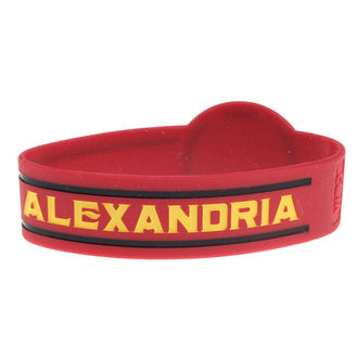 náramek gumový ASKING ALEXANDRIA - DIE CUT CIRCLE LOGO - PLASTIC HEAD, PLASTIC HEAD, Asking Alexandria