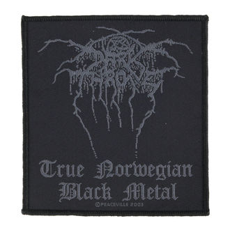 nášivka DARKTHRONE - TRUE NORWEGIAN BLACK METAL - RAZAMATAZ, RAZAMATAZ, Darkthrone
