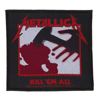 nášivka Metallica - Kill 'Em All - RAZAMATAZ, RAZAMATAZ, Metallica