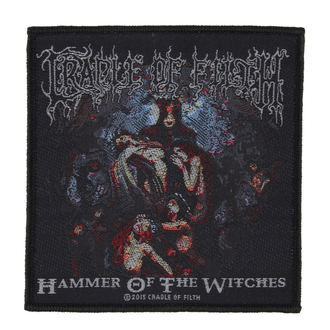 nášivka CRADLE OF FILTH - HAMMER OF THE WITCHES - RAZAMATAZ, RAZAMATAZ, Cradle of Filth