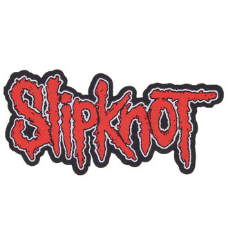nášivka SLIPKNOT - LOGO CUT-OUT - RAZAMATAZ, RAZAMATAZ, Slipknot