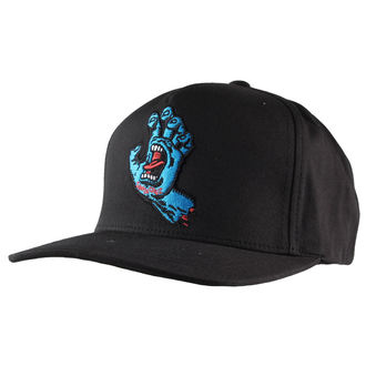 kšiltovka SANTA CRUZ - Screaming Hand - SCACAP-016 BLACK