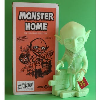figurka Monster Home - Uncle Nosferatu All-Green