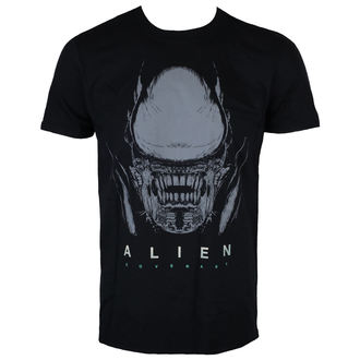 tričko pánské ALIEN - COVENANT - HEAD BLACK - LIVE NATION - PE15156TSB