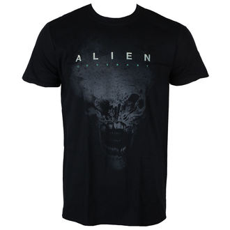 tričko pánské ALIEN - COVENANT - XENO AND LOGO BLACK - LIVE NATION - PE15157TSB