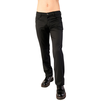 kalhoty Aderlass - Jeans Pin Stripe Black-White, ADERLASS