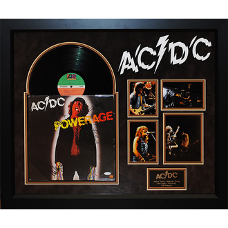 LP s podpisem AC/DC - Powerage, ANTIQUITIES CALIFORNIA, AC-DC