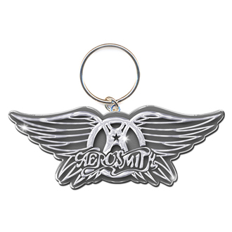 klíčenka - přívěšek Aerosmith (Wings Logo) - ROCK OFF - AEROKEY01