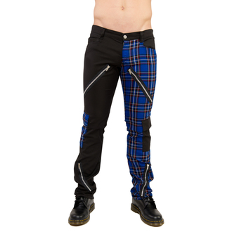kalhoty Black Pistol - Freak Pants Tartan Black-Blue, BLACK PISTOL
