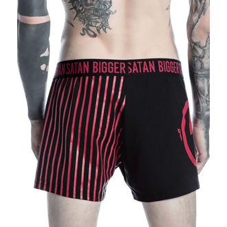 boxerky pánské KILLSTAR - MARILYN MANSON - Bigger Than Satan - Black, KILLSTAR, Marilyn Manson