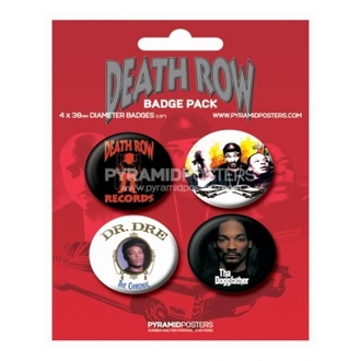 placky Death Row Records - BP80085, PYRAMID POSTERS