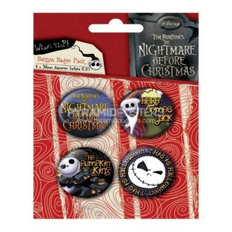placky - Nightmare Before Christmas (Jack) - BP80303 - Pyramid Posters