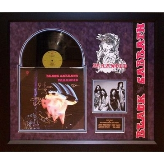 LP s podpisem Black Sabbath - Paranoid, ANTIQUITIES CALIFORNIA, Black Sabbath