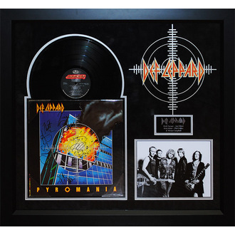 LP s podpisem Def Leppard - Pyromania, ANTIQUITIES CALIFORNIA, Def Leppard