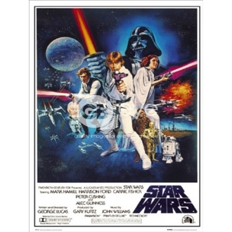 plakát - Star Wars Episode 4 - One Sheet B - FP1419 - GB posters