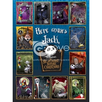 plakát - NIGHTMARE BEFORE CHRISTMAS - Compilation - FP2209 - GB posters
