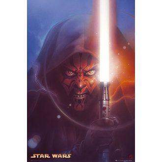 plakát Star Wars - Darth Maul Painting S.O.S - GB posters, GB posters