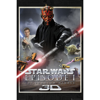 plakát Star Wars - Episode 1 One Sheet - GB Posters, GB posters