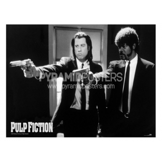 plakát - Pulp Fiction (B&W Guns) - GPP51003 - Pyramid Posters