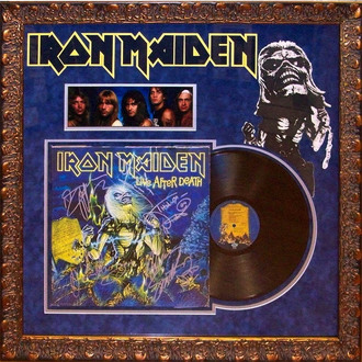 LP s podpisem Iron Maiden - Live Ater Death, ANTIQUITIES CALIFORNIA, Iron Maiden