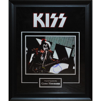 fotka s podpisem KISS – Gene Simmons, ANTIQUITIES CALIFORNIA, Kiss