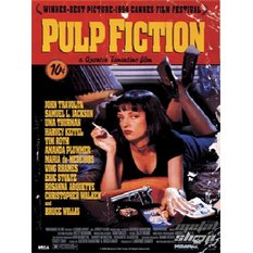 obraz 3D Pulp Fiction (One-sheet) - PPL70031 - Pyramid Posters
