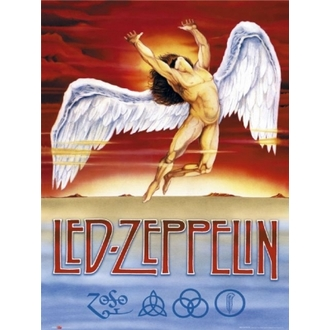 plakát - Led Zeppelin - Swansong - GB Posters - LP0875