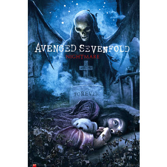 plakát Avenged Sevenfold - Nightmare - GB Posters, GB posters, Avenged Sevenfold