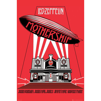 plakát Led Zeppelin - Mothership - GB Posters - LP1570