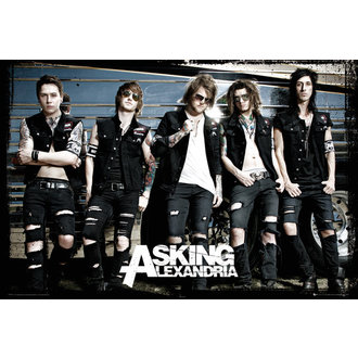 plakát Asking Alexandria - Bus - GB Posters, GB posters, Asking Alexandria