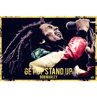 plakát Bob Marley - Get Up Stand Up - GB Posters - LP1581