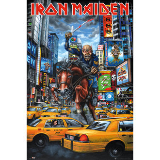 plakát Iron Maiden - New York - GB posters, GB posters, Iron Maiden