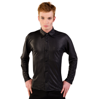 košile pánská Mode Wichtig - Pocket Shirt Snake Black, MODE WICHTIG