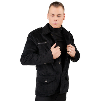 bunda pánská Mode Wichtig - Work Jacket Cord Black, MODE WICHTIG