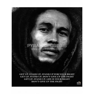 Plakát - Bob Marley (Get Up, Stand Up) - MPP50072 - Pyramid Posters