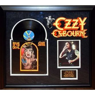 LP s podpisem Ozzy Osbourne - Speak of the Devil
