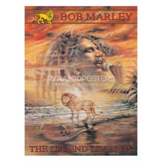 plakát - Bob Marley (Legend Lives On) - PP30664, PYRAMID POSTERS, Bob Marley
