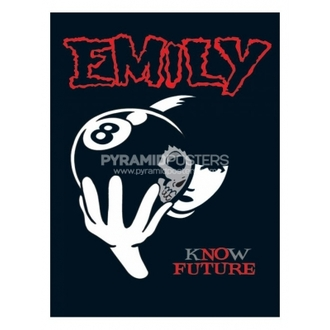 plakát - Emily The Strange (8 Ball) - PP31297 - Pyramid Posters