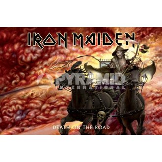 plakát Iron Maiden (Death On The Road) - PYRAMID POSTERS, PYRAMID POSTERS, Iron Maiden